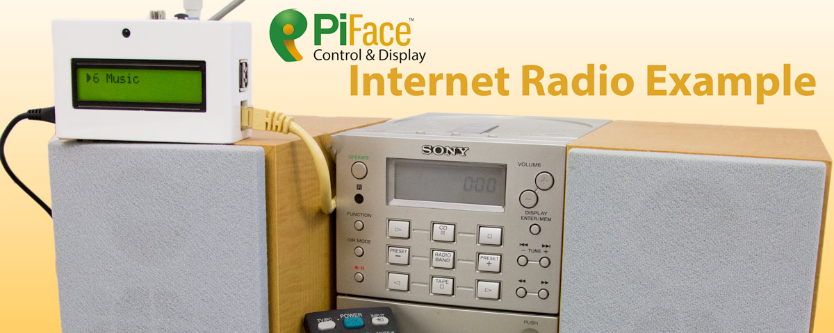 PiFace Control and Display Internet Radio